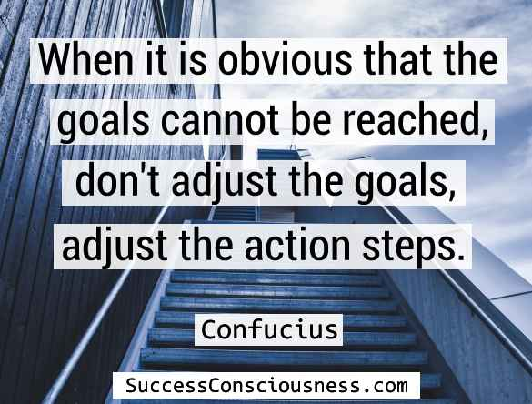 Adjust the Action Steps
