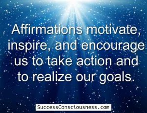 Affirmations motivate and Inspire