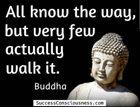 All Know the Way - Buddha