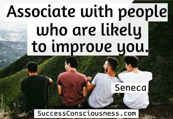 Associate with People