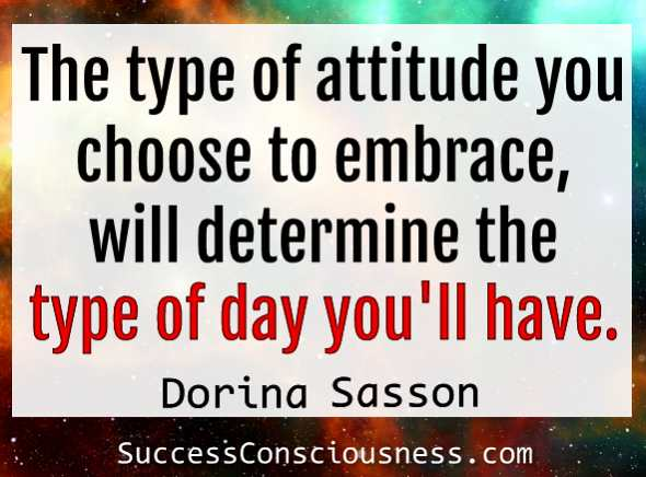 Your attitude Affects Your Day