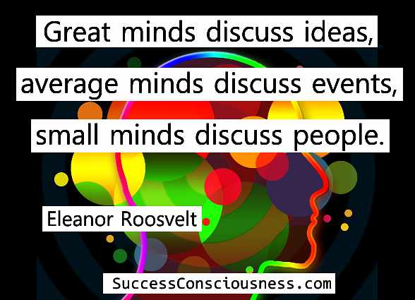 Great Minds - Eleanor Roosevelt