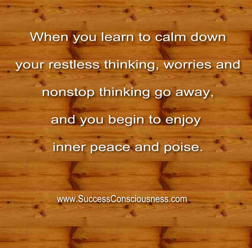 Inner Peace and Poise Quote