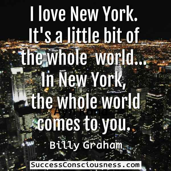 Love New York Quote