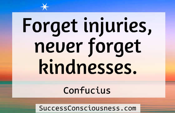 Never Forget Kindness