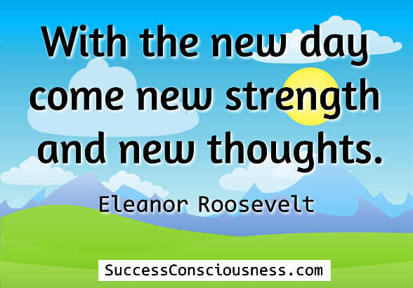 New Strength New Thoughts