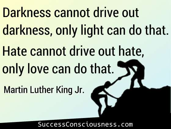Only Love Can Drive out Hate