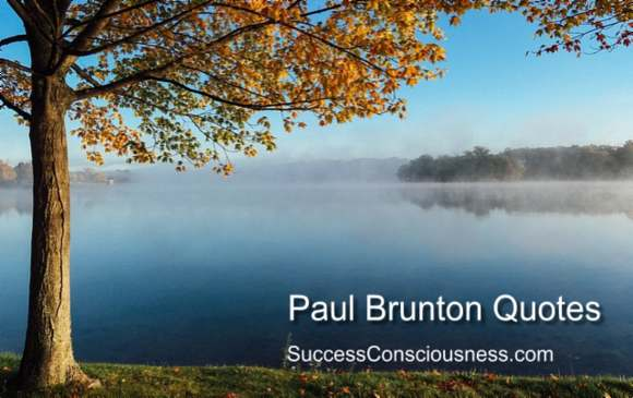 Paul Brunton Quotes