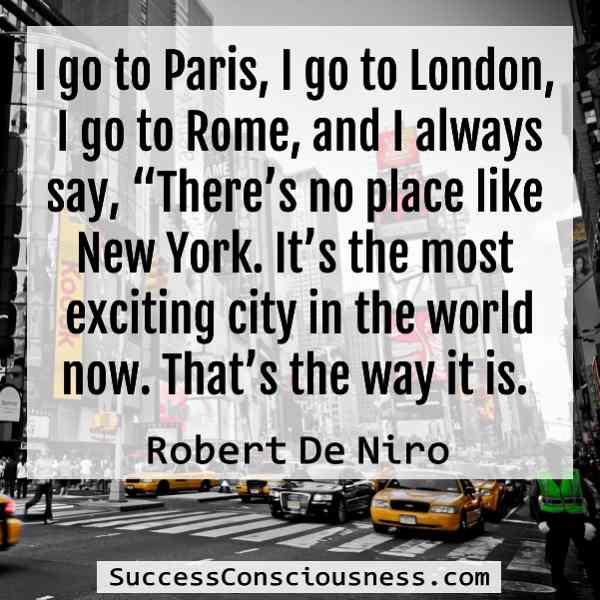 Robert De Niro Quote
