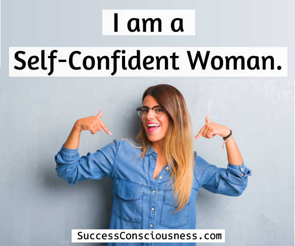 Self Confident Woman