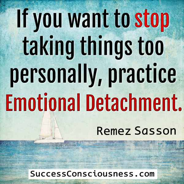 Stop Taking Things Too Personally