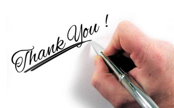 12 ways to say thank you and to show appreciation