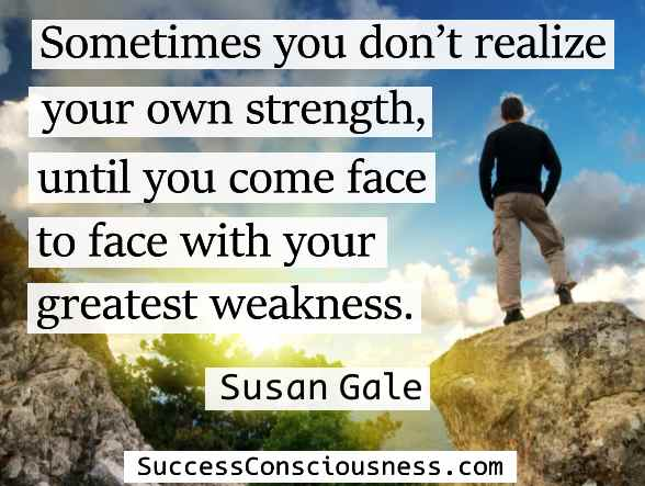 Realize Your Own Strength